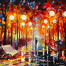 MISTY   REFLECTIONS by Leonid  Afremov