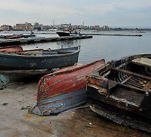 Harbor Scene by Alessandro Pinto