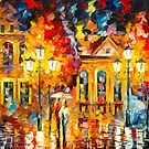 NIGHT SHINE by Leonid  Afremov