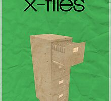 The X-Files minimalist poster by hannahnicole420
