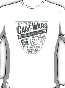 Cards Wars - Floop for Glory! (Adventure Time) (Dark Gray) T-Shirt