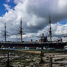 HMS Warrior Portsmouth Historic Docks by liberthine01
