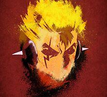 Laxus Grunge  by epyongart