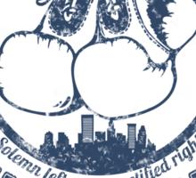 Cutty's Athletic Club Sticker
