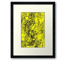 [68]DollsDrawingYellow Framed Print