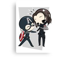 Captain America & The Winter Soldier Canvas Print