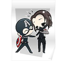 Captain America & The Winter Soldier Poster