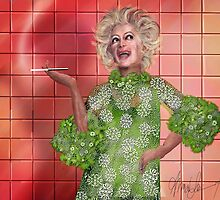 Ha!: Portrait of Phyllis Diller by Alma Lee