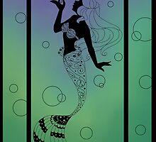 Silhouette Ariel by Redhead-K