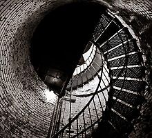 Currituck Spiral II by David K. Sutton