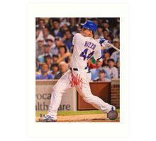 Anthony Rizzo signed photo Art Print