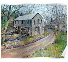 Historic Cohutta Springs Mill Poster