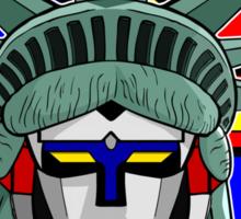 Voltron Liberty Sticker