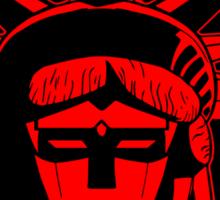 Voltron Liberty (red) Sticker
