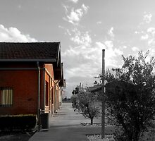 old depots by IOANNA PAPANIKOLAOU
