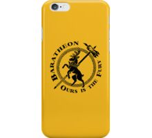 Robert: Ours is the Fury iPhone Case/Skin