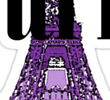 Paris, France - Eiffel Tower Sticker