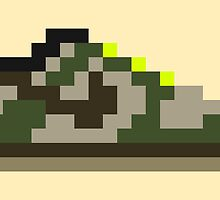 8-bit Kicks (Jedi) by pixelfart