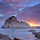 Sunset at Sugarloaf Rock by Gillian Berry