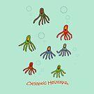 Cycloptic Hectopus Tee-shirt by Leonie Mac Lean
