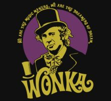 Willy Wonka quote logo by Buby87