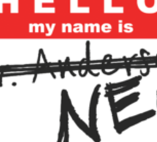 My name is Neo Sticker