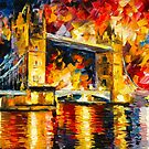 LONDON BRIDGE by Leonid  Afremov