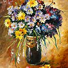 MARGARITA BOUQUET by Leonid  Afremov