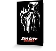 Sin City: A Dame to Kill For Greeting Card
