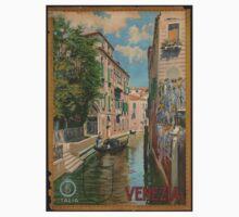 Venice Italy Vintage Art Kids Clothes