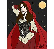 Ruby Moon Photographic Print