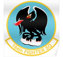194th Fighter Squadron Poster
