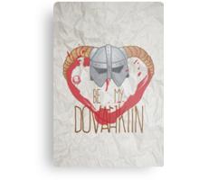 be my dovahkiin Metal Print