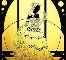 Silhouette Belle by Redhead-K