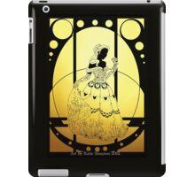 Silhouette Belle iPad Case/Skin