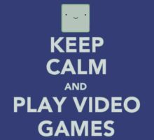 Keep calm and play videogames by gondorkz