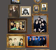 One Direction Wall Frames for Samsung by sdunaway