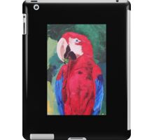 Parrot Scarlet Macaw Tropical Bird - iPhone iPod & iPad Tablet Covers iPad Case/Skin