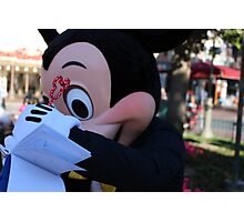 Mickey Mouse's Autograph Photographic Print