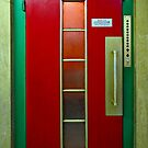 Elevator Door © by Ethna Gillespie