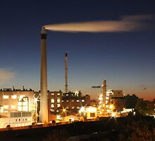 Industry at Night by stine1