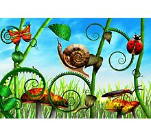 Steampunk - Bugs - Evolution take time Photographic Print