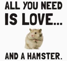 Love And A Hamster Kids Clothes