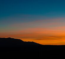 Sunset Sky by IOBurque