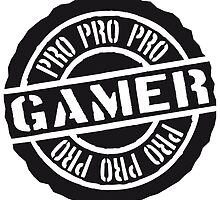 Pro Gamer stamp design by Style-O-Mat