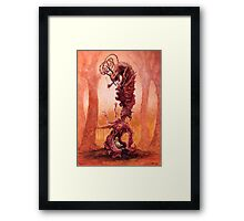 The Snarling Universe Framed Print