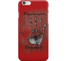 Daughter of smoke and bone. Elsewhere iPhone Case/Skin