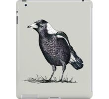 Magpie - Dedicated to family iPad Case/Skin