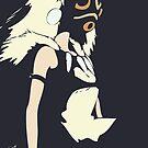 Princess Mononoke by Studio Momo ╰༼ ಠ益ಠ ༽