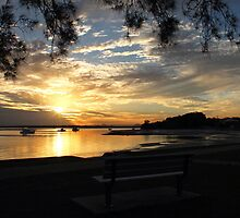 View of a Bribie Sunset by JLOPhotography